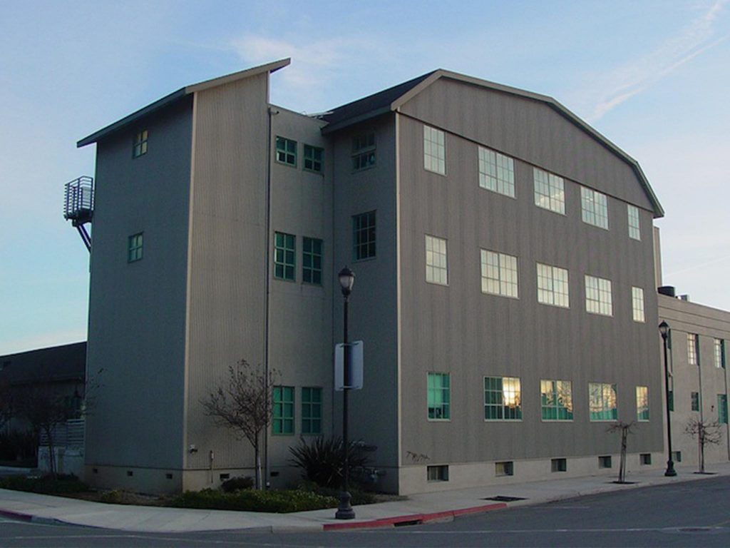36 north grain tower working space exterior