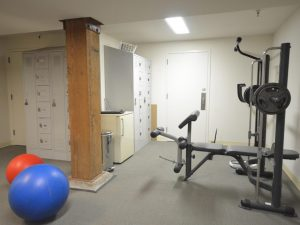 36 north grain tower working space gym room