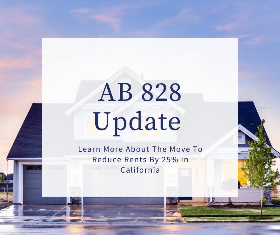 AB 828 Update